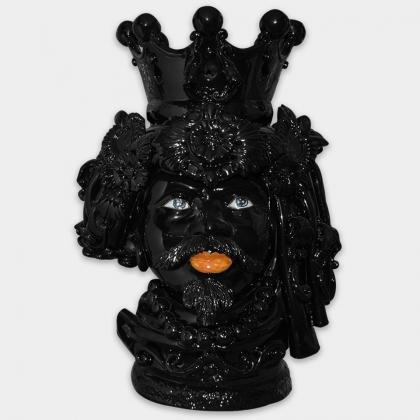 Ceramic Head h 50 black line male